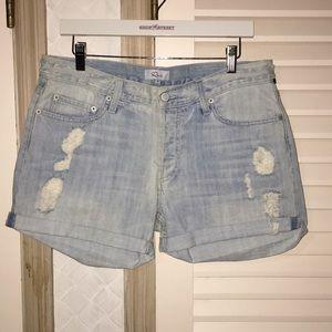 NWOT Rails denim jean shorts distressed